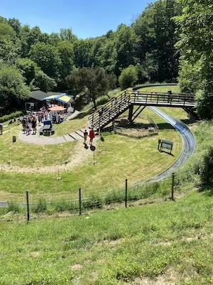 Summer bobslide